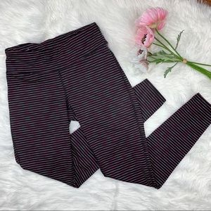 BOGO! Gap | Gapfit Gfast Pink Stripe Leggings
